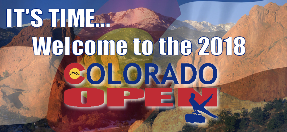 Welcome to the 2018 Colorado Open